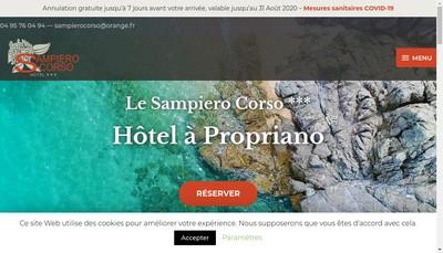 Site internet de Sampiero Corso