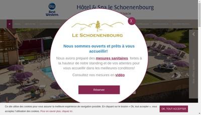 Site internet de HLS Hotel le Schoenenbourg