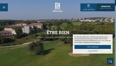 Site internet de Hotel Spa Fontcaude