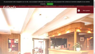 Site internet de Les Tilleuls