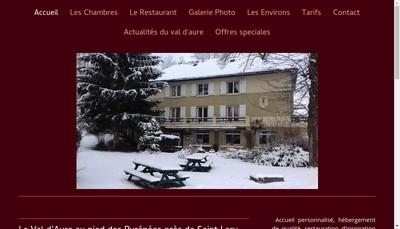 Site internet de Hotel du Val d'Aure