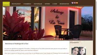 Site internet de Auberge de la Tour