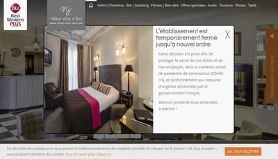 Site internet de Est-Hotel