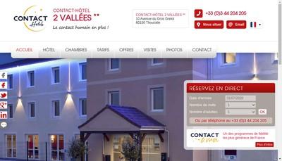 Site internet de 2 Vallees