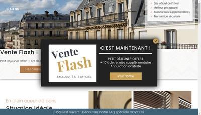 Site internet de Antin Saint Georges