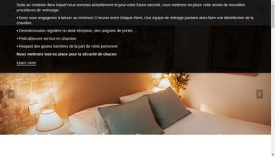 Site internet de Hotel Arcadie Montparnasse