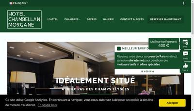 Site internet de Residence Morgane