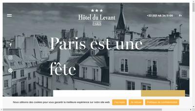 Site internet de SARL Hotel du Levant