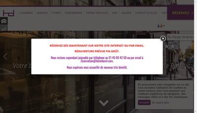 Site internet de Hotel Etoile Maillot - Hotel Duret