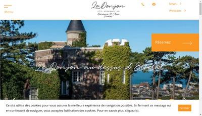 Site internet de Le Donjon