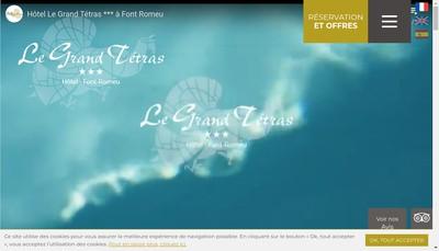 Site internet de Le Grand Tetras