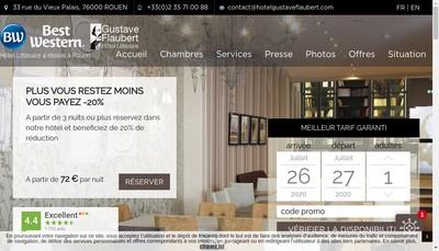 Site internet de Hotel du Vieux Marche