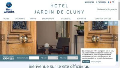 Site internet de Le Jardin de Cluny