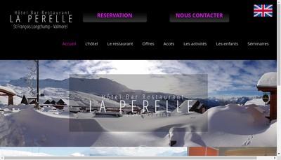 Site internet de Family Resort la Perelle