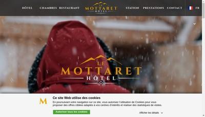 Site internet de Hotel le Mottaret