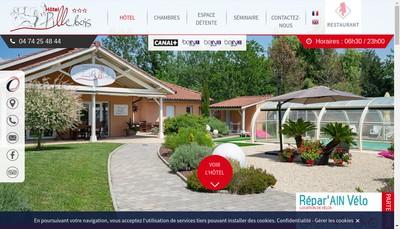 Site internet de Domaine le Pillebois