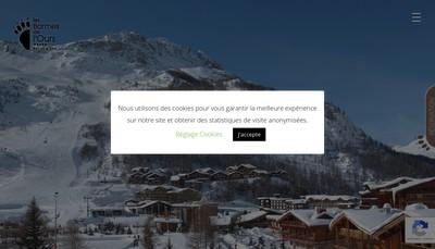 Site internet de Les Barmes de l'Ours