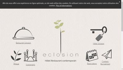 Site internet de Eclosion