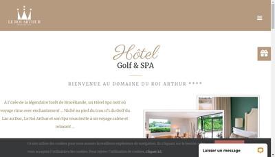 Site internet de Le Roi Arthur
