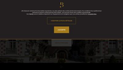 Site internet de Societe d'Exploitation de l'Hotel et du Restaurant le Fouquet'S
