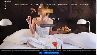 Site internet de Hotels en Ville