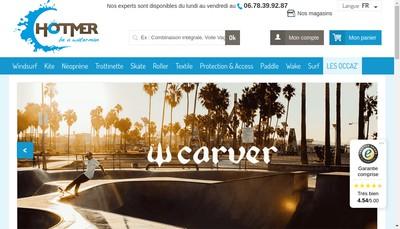 Site internet de Hotmer