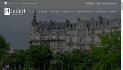Site internet de Houdart Audit et Conseil