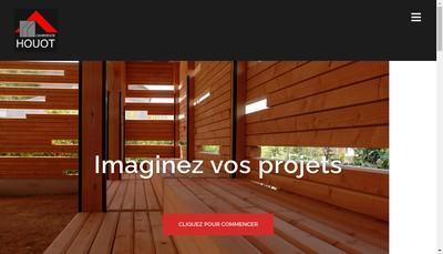 Site internet de Charpente Houot