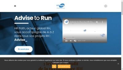 Site internet de Hr Path Software