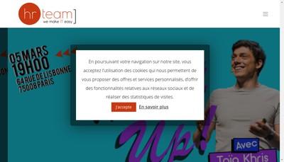 Site internet de HR Team