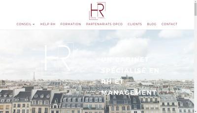 Site internet de Hr Move Conseil