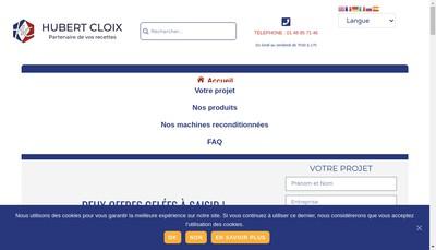 Site internet de Hubert Cloix