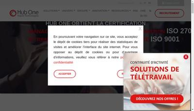 Site internet de Hub One