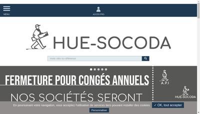 Site internet de HUE-SOCODA