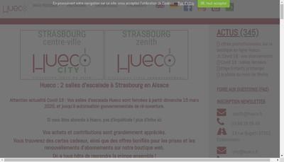 Site internet de Hueco