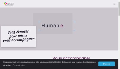 Site internet de Human Project Consulting