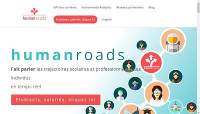 Site internet de Millionroads