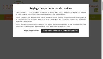 Site internet de Humexpo