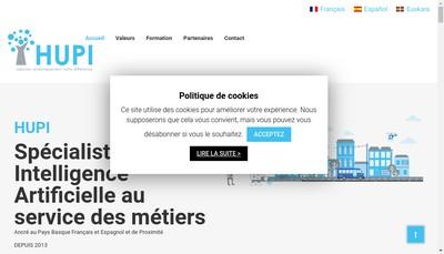 Site internet de Hupi