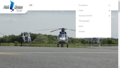 Site internet de Heli Union Training Center