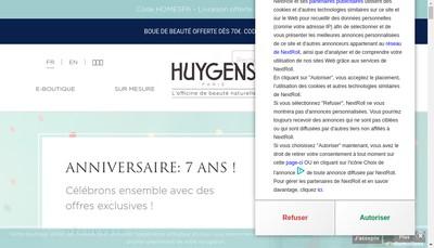 Site internet de Huygens