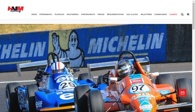 Site internet de Vmv Racing