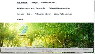 Site internet de Hydra Vert