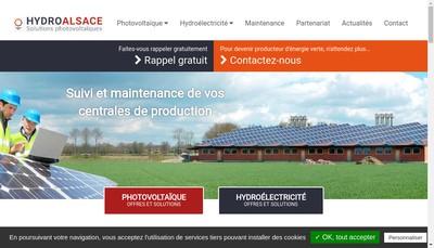 Site internet de SARL Hydroalsace