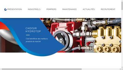 Site internet de Hydrotop