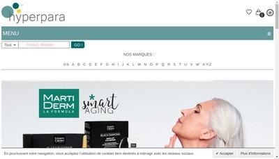 Site internet de Hyperpara Fr