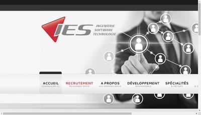 Site internet de Ies Ingenierie