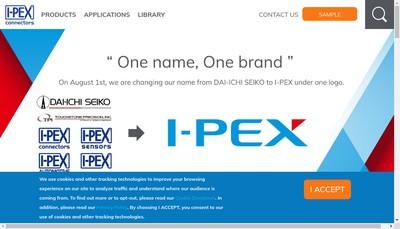 Site internet de I-Pex Europe