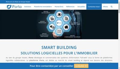 Site internet de I-Porta