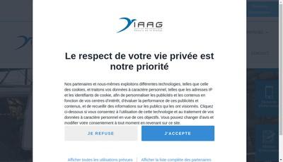 Site internet de Institut Aeronautique Amaury de la Grange